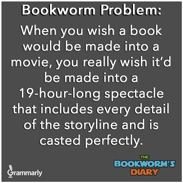Bookworm Problems